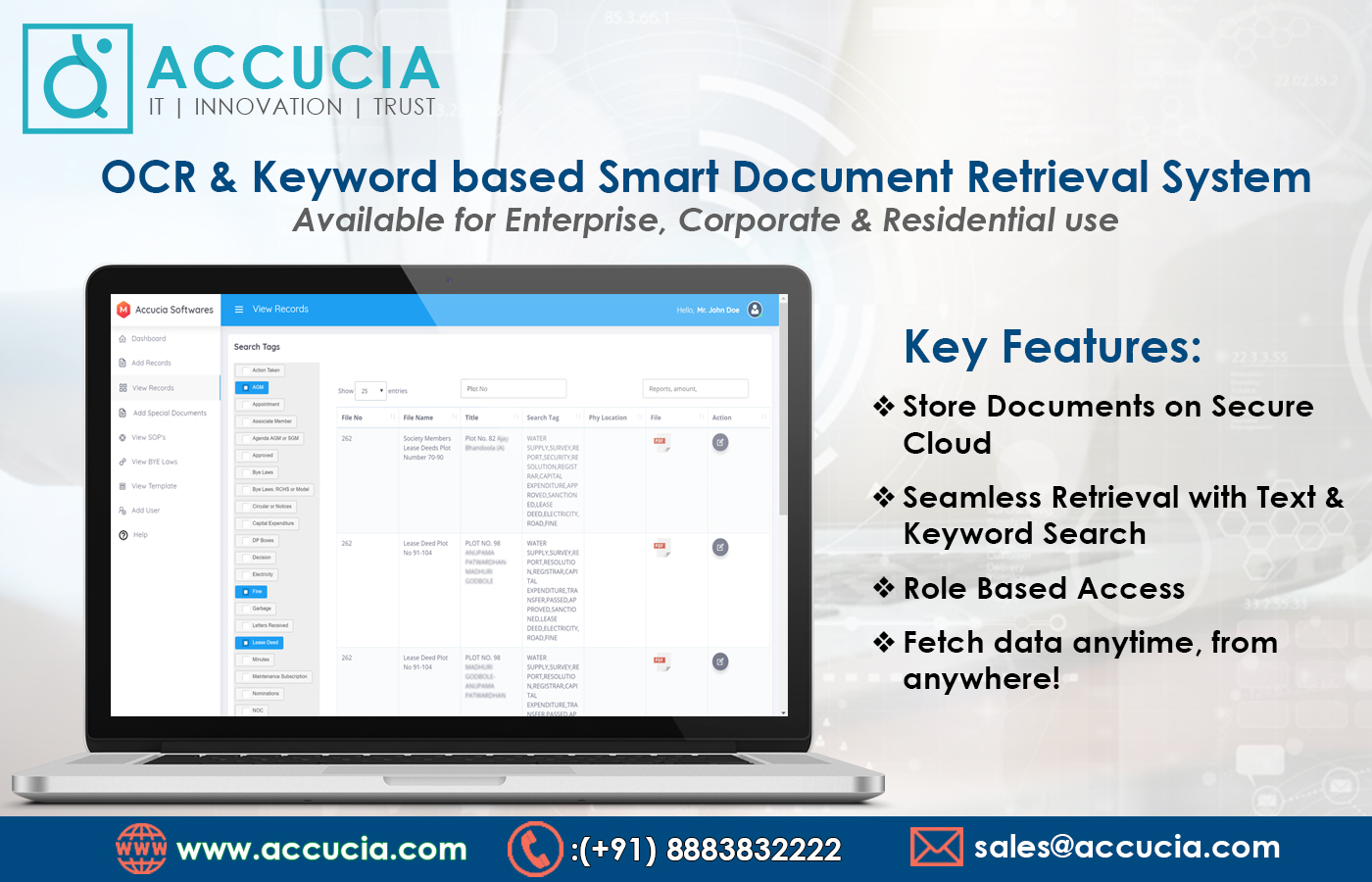 Accucia Softwares